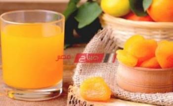 طريقة عمل مشروب قمر الدين بالبرتقال من قائمة مشروبات رمضان 2021 على طريقة الشيف فاطمة ابو حاتى