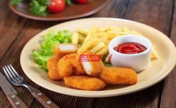 طريقة عمل ناجتس الدجاج بطريقة سهلة وبسيطة كمقبلات خفيفة في شهر رمضان الكريم ٢٠٢١