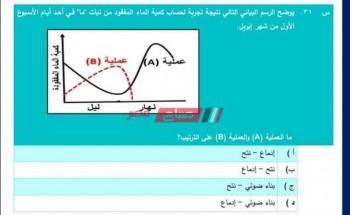 النماذج الاسترشادية المجمعة للصف الأول الثانوي 2021 امتحانات أولى ثانوي متعددة التخصصات وزارة التربية والتعليم