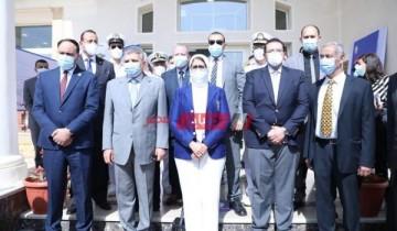 بحضور وزيرة الصحة البدء فى تطعيم العاملين فى قطاع السياحة بالبحر الأحمر وجنوب سيناء