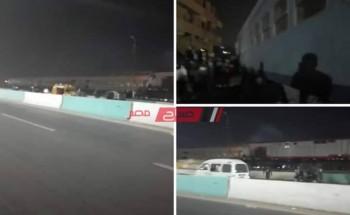 خروج قطار قادم من القاهرة عن القضبان بمركز منيا القمح بمحافظة الشرقية