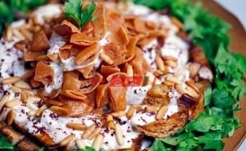 طريقة عمل الأرز الأبيض مع الصوص والخبز المحمص لأفطار في رمضان الكريم 2021