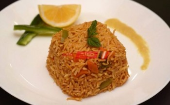 طريقة عمل الأرز البسمتى بالطماطم والجراماسالا الهندية بطعم مختلف على مائدة رمضان 2021 على طريقة الشيف سارة عبد السلام