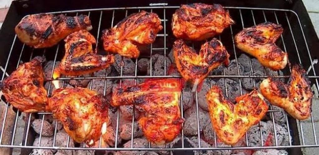 طريقة عمل الفراخ المشوية علي الفحم في رمضان الكريم2021
