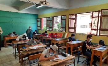 جدول امتحانات الصف الثالث الاعدادى جميع محافظات الجمهورية الترم الثاني 2021