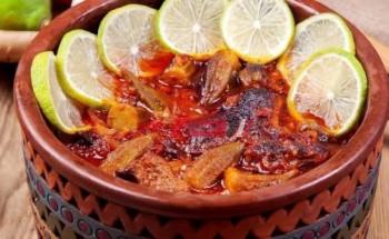 طريقة عمل طاجن البامية باللحمة الضاني بطعم مميز لأفطار شهي في رمضان الكريم 2021