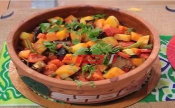 طريقة عمل طاجن تورلي بالبطاطا والطماطم واللبن والجزر والبطاطس والعسل علي طريقة الشيف ماجي حبيب