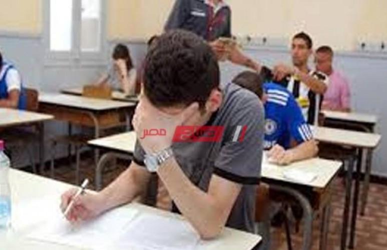جدول امتحانات الثانوية العامة 2021 علمي وأدبي وزارة التربية والتعليم