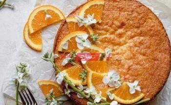 طريقة عمل كيكة الذرة بالبرتقال والزعفران بطعم جديد ومختلف