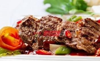 طريقة عمل لحم البفتيك بطعم شهي ولذيذ للإفطار في شهر رمضان الكريم 2021