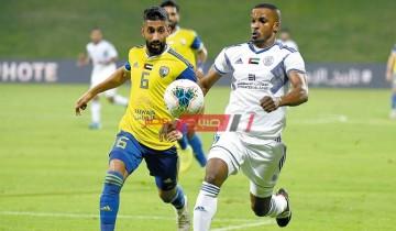 نتيجة وملخص مباراة النصر والظفرة دوري الخليج العربي الاماراتي