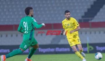 نتيجة وملخص مباراة الوصل وخورفكان دوري الخليج العربي الاماراتي