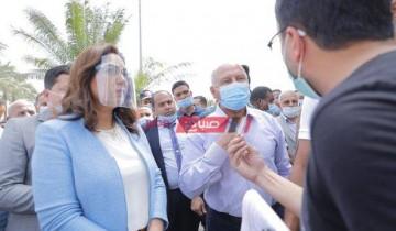 محافظ دمياط: إزالة التعديات على أملاك الدولة بقرية كرم ورزوق ضمن الموجة الـ 18