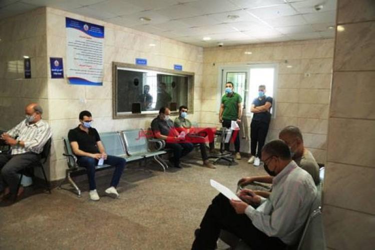 ارتفاع عدد مراكز تلقي لقاح فيروس كورونا بالإسكندرية إلي 70 مركز