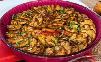 طريقة عمل مرصوصة البطاطس بالكمون لسحور شهى فى رمضان 2021 على طريقة الشيف سارة عبد السلام