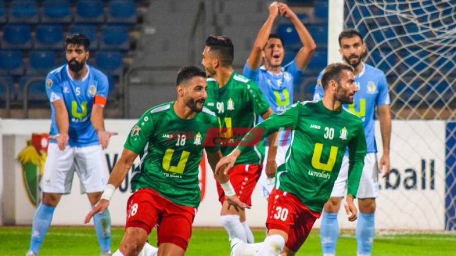 أهداف مباراة الوحدات والبقعة الدوري الأردني