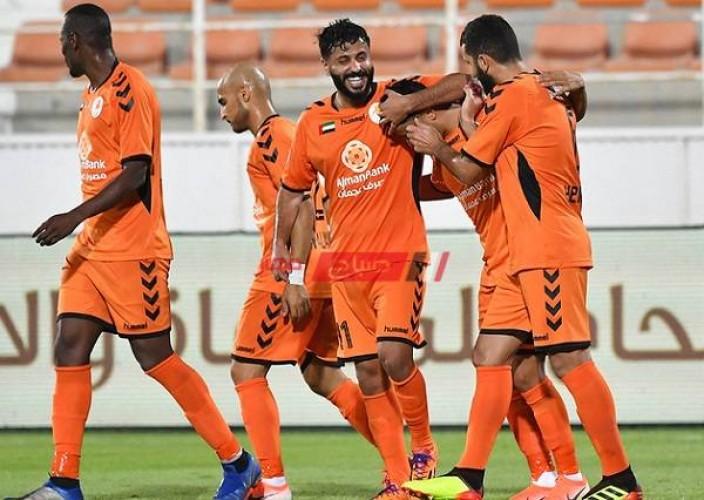 نتيجة مباراة عجمان والجزيرة الدوري الإماراتي