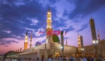 مواقيت الصلاة اليوم الجمعة 16-7-2021 بمحافظة دمياط