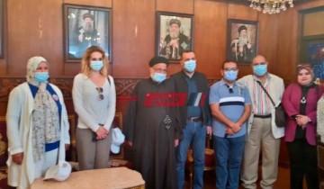 محافظة دمياط تستقبل فريق التواصل المجتمعي بوزارة الصحة