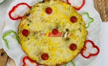 طريقة عمل أومليت البيض بالمشروم وميكس الجبن لفطور أو عشاء شهى على طريقة الشيف فاطمة ابو حاتى