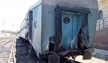 ارتفاع عدد المصابين إلي 37 في حادث قطار الإسكندرية