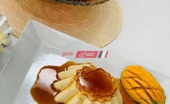 طريقة عمل الكريم كراميل بدون بيض على طريقة الشيف فاطمة ابو حاتى