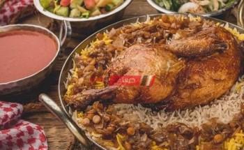 طريقة عمل دجاج مجبوس من المطبخ الكويتي بطعم شهي ولذيذ