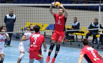 كرة طائرة نتيجة مباراة الأهلي والزمالك نهائي كأس مصر