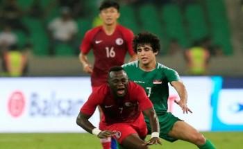 نتيجة مباراة العراق وهونغ كونغ تصفيات آسيا المؤهلة لكأس العالم 2022