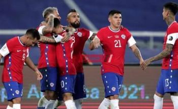 اهداف مباراة تشيلي وباراغواي بطولة كوبا أمريكا