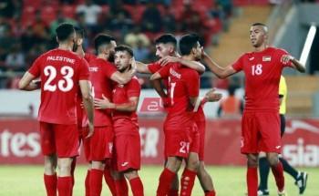 نتيجة مباراة فلسطين وجزر القمر كأس العرب
