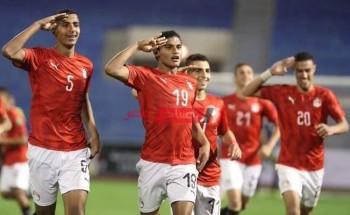 أهداف مباراة مصر والجزائر كأس العرب تحت 20 سنة