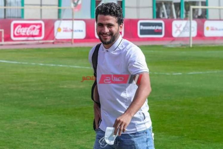 محمد محمود يتواجد في التتش بعد التعافي من كورونا