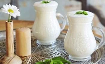 طريقة عمل مشروب العيران التركى بمكونات بسيطة وفى 5 دقائق على طريقة الشيف فاطمة ابو حاتى