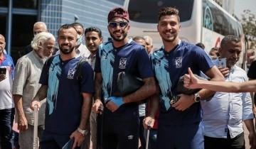 مطار القاهرة يستقبل بعثة الأهلي قبل السفر إلى تونس