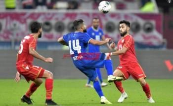 موعد مباراة البحرين والكويت كأس العرب 2021 والقنوات الناقلة