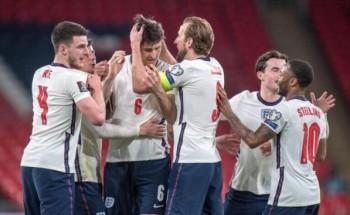 موعد مباراة إنجلترا وكرواتيا بطولة كأس أمم أوروبا 2020 والقنوات الناقلة