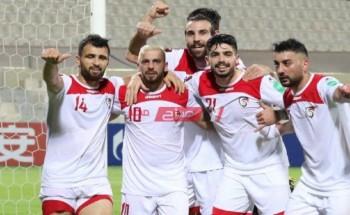 موعد مباراة سوريا وغوام تصفيات آسيا لكأس العالم 2022 والقنوات الناقلة