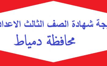 موعد إعلان وإعتماد نتيجة الشهادة الإعدادية الترم الثاني 2021 بدمياط