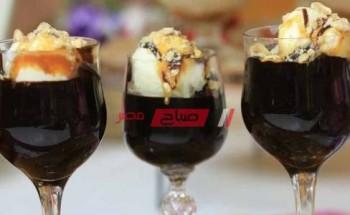 طريقة عمل أكواب البراونيز بصوص الشوكولاتة والبندق والقهوة علي طريقة الشيف غادة التلي لحلوي عيد الأضحي المبارك 2021