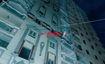 إزالة 10 أدوار من عقار بحري المائل في محافظة الإسكندرية