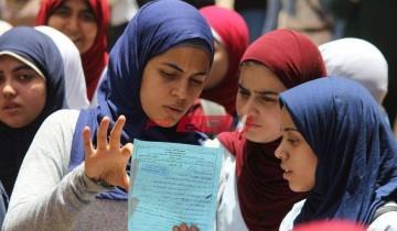 انتهاء طلاب الثانوية العامة الشعبة العلمية من أداء امتحان اللغة الأجنبية الأولى في الإسكندرية