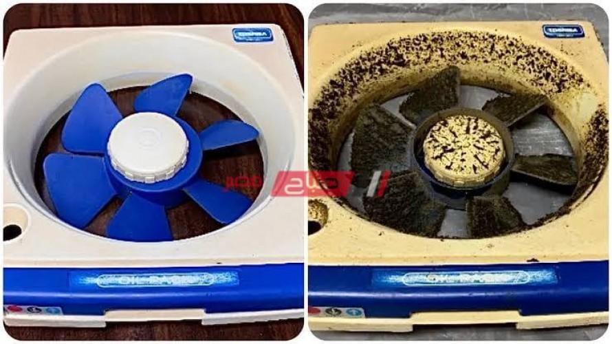 طريقة تنظيف الدهون الصعبة التي تترسب على أجهزة المطبخ بطريقة سريعة وسحرية