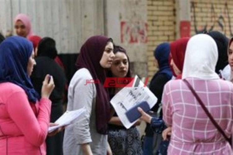 جدول امتحانات الصف الثالث الثانوي علمي 2021 وزارة التربية والتعليم