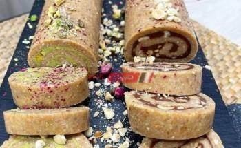 طريقة عمل حلوي رول البسكويت اللذيذ من ضمن قائمة حلويات عيد الأضحى المبارك 2021