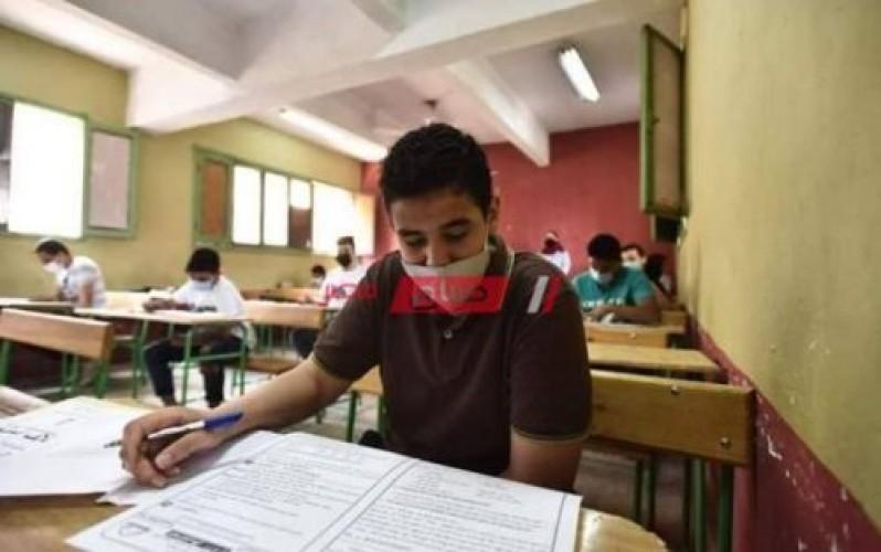 جدول امتحانات الثانوية العامة 2021 أدبى
