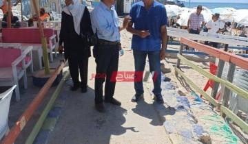 غرامات مالية علي مستأجري الشواطئ المخالفين لإجراءات فيروس كورونا بالإسكندرية
