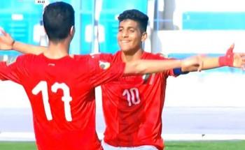 نتيجة مباراة مصر والسعودية كأس العرب تحت 20 سنة