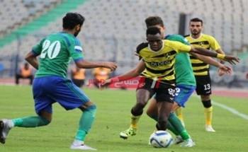 نتيجة مباراة وادى دجلة ومصر المقاصة الدوري المصري