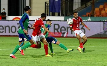 أهداف مباراة الأهلي ومصر المقاصة الدوري المصري